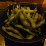 7576798 - 枝豆の一夜漬け。
