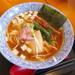 麺SAMURAI 桃太郎 - 奥州いわいの鶏だし醤油