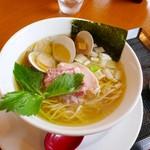 麺SAMURAI 桃太郎 - ハマグリ塩