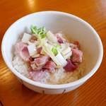 麺SAMURAI 桃太郎 - ローストポーク丼
