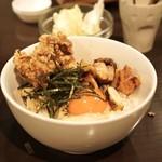 アヒル - ☆焼き鳥丼、温玉、ねぎみ入り