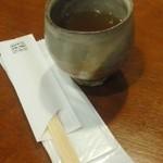 蕎麦がき屋 - そば茶