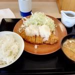 とんかつ かつや - 料理写真:おろしカツ定食