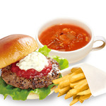 the 3rd Burger - スープ&ポテトセット
