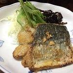 福もと - 昼日替わり定食(20食)600円 サワラバター焼き