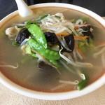 中華料理 華連 - タンメン