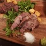 ゴルゴン9 - 熟成肉2点盛り合わせ