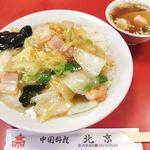 北京 - 料理写真:えびあんかけご飯