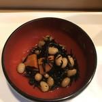 阿津満 - 今日はひじきの煮物。毎回、煮物が楽しみ^_^