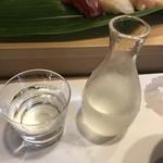 阿津満 - 日本酒へチェンジ。浦霞