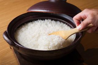 ひとはし - 炊きたての釜飯は何よりも美味しい秘密です