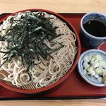 東京庵 - 料理写真:ざるそば650円(新そば・でわかおり)