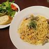 ヴェニーテ マルル - 料理写真:ハーブソーセージとひよこ豆のチーズスパゲッティ