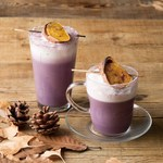 ジンナンカフェ - 紫芋ラテ