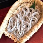 にし乃 - 料理写真:盛りそば(760円)