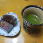 ワガシアソビ - 日本茶と共に