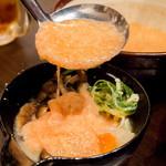 博多 心風 - お好みで明太とろろをかけて食べてみてもGood☆プチプチ触感がたまりません!