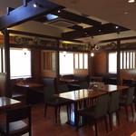 カフェ サンタマリア プラス - ゆったりとした空間で分煙しています