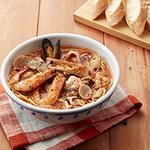 ジョリーパスタ - 冬の新商品!ずわい蟹と魚介たっぷりブイヤベース