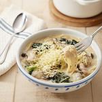 ジョリーパスタ - 冬の新商品!とろ~りチーズと牡蠣のクリームスープパスタ