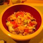 鮨竜 - たっぷりまかない丼