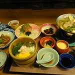 海鮮問屋 博多 - お昼まま(1,050円)