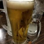 山の猿 - ドリンク写真:ビール