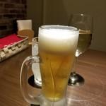 炭焼きイタリアン酒場 炭リッチ - ビール