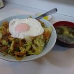 はちのこ食堂 - 料理写真:スタミナどんぶり630円
