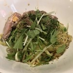 汁なし担々麺 麻沙羅/まさら - 肉汁汁なし坦々麺 800円