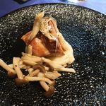 ラ・ルーナ・ロッサ - 豚バラ肉のクロッカンテ キャベツのピューレと