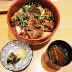 75786059 - 肉丼!!(*ノωノ)