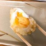 75786275 - 半熟卵の天ぷらです。(2017.10 byジプシーくん)