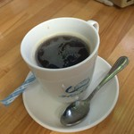 クインズケーキ - コーヒー
