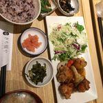 さち福やCAFE - 鶏とたっぷり根菜の甘酢あんかけ定食