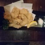 江島流地どり家道場 - 鶏ハラミの天ぷら