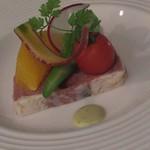 サヤン・テラス HOTEL&RESORT - 料理写真:夕食 前菜