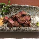 十一 - 料理写真:但馬牛のステーキ