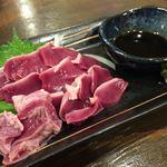 土佐焼鶏ジロー - 砂肝の刺身