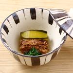 有機和食 山藤 - 【芋茎と日本南瓜の炊き合わせ】