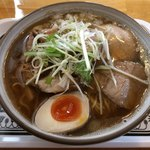 つるみ食堂 - 煮干し中華SOBA+端肉チャ〜シュ〜