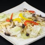 六本木 SHALALA - 野菜のペペロンチーノ
