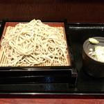 石臼挽き十割蕎麦 はせ川 - かけそば(大盛)(380円)