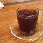 75796900 - 1710_UDON & COFFEE MIKAWA -参河-_食後のコーヒー
