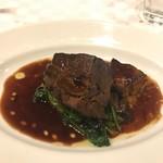 bisutorogyaro - 牛頬肉のワイン煮込み