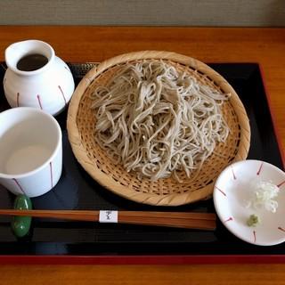 そば屋 けん豆 - 料理写真:せいろ(750円)