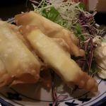 魚亥子 - チーズ巻き揚げ 2017.10.14