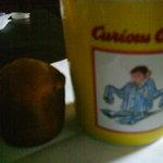 フィール アット イーズ ジュース キッチン - マフィンはこのくらいの大きさ