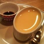 カフェスタイルコジロウ - プリン+濃縮水出しコーヒー