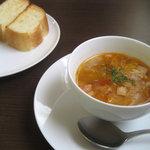ZABO - パスタランチ@パンとスープ